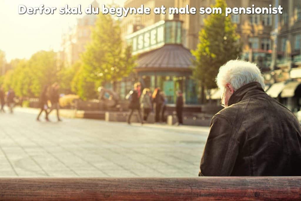 Derfor skal du begynde at male som pensionist